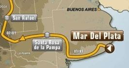 Откриване - Mar del Plata - Santa Rosa de la Pampa