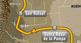 Етап 1 - Santa Rosa de la Pampa - San Rafael